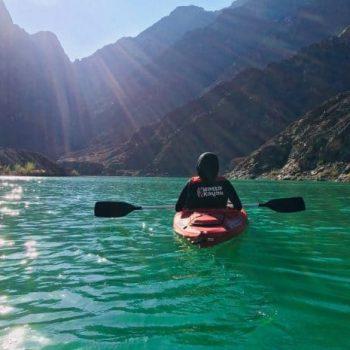Hatta Dam Kayak